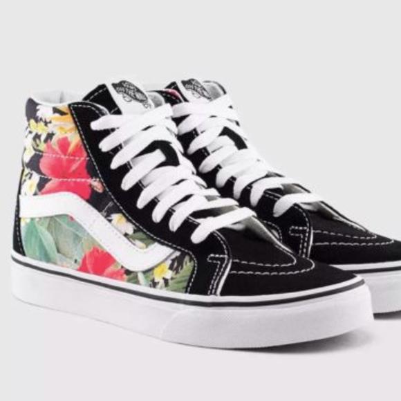 vans era digi aloha mens skate shoes